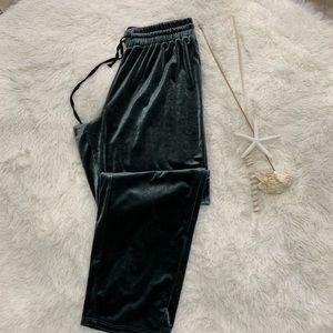 American Eagle velvet pants size M